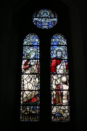 North clerestory window - late 1920s