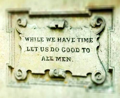 While we have time...