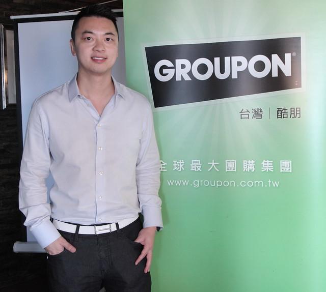 photo1-GROUPON Taiwan new CEO - Danny