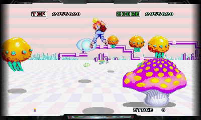 3D Space Harrier (3DS)