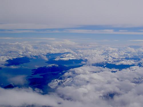 Despegando de Ushuaia