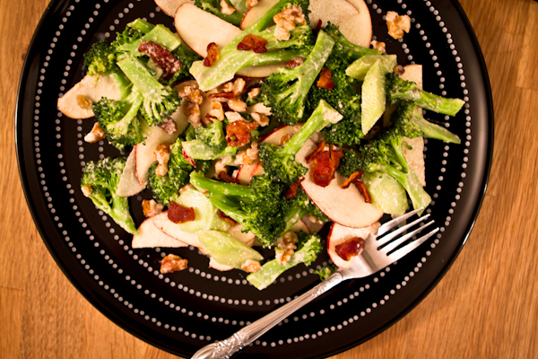 broccoli & apple salad
