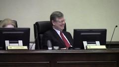 County Attorney Walter Elliott gets the joke
