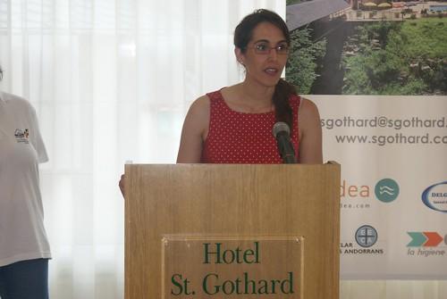 Paloma Carrion, directora de l'Hotel St. Gothard