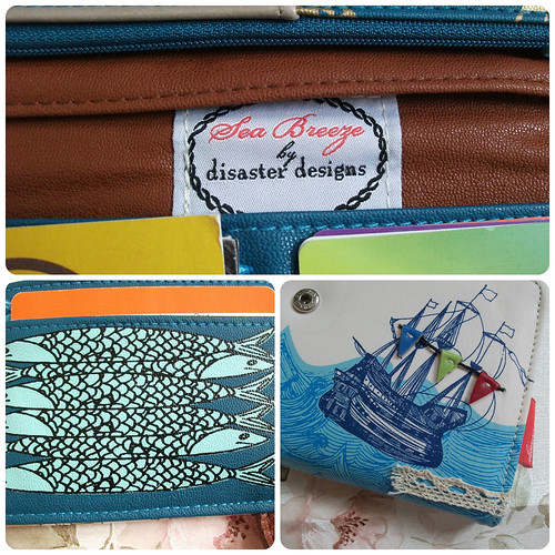 Disaster Designs Sea Breeze Purse Detail
