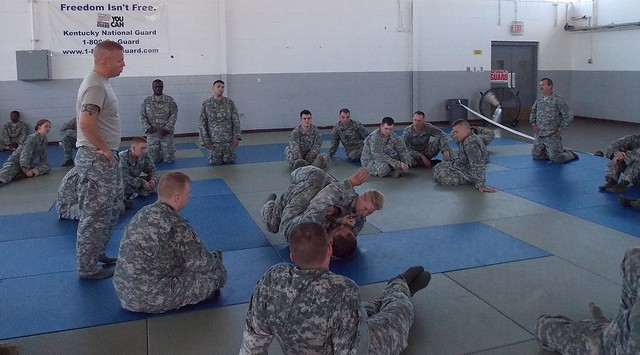 149th BSB combatives