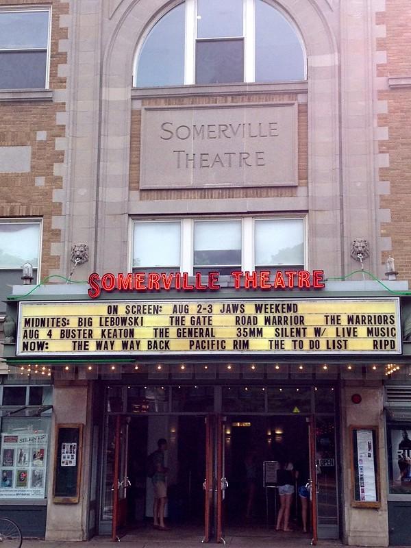 Somerville Theatre Somerville MA