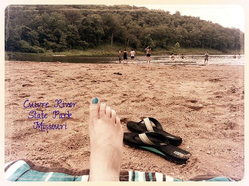 cuivre state park beach