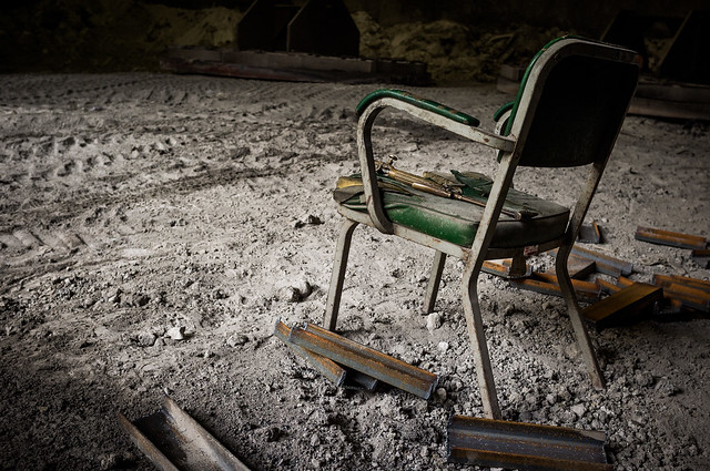 Steel Mill Snapshot: The Burner's Chair
