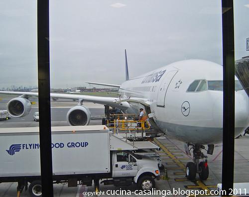 Heimflug Beladen Flugzeug