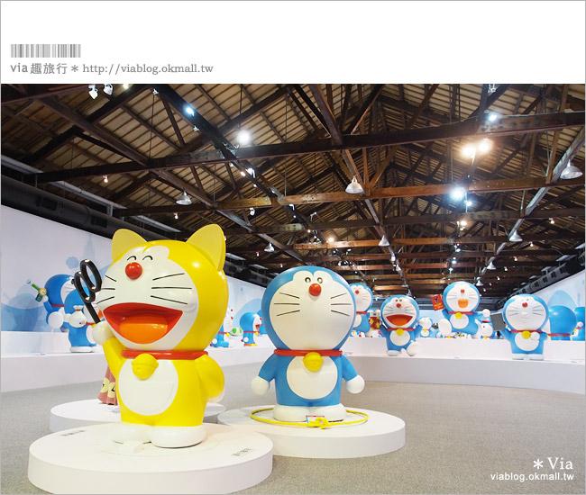 【高雄哆啦a夢展覽2013】來去高雄駁二藝術特區~找哆啦A夢旅行去!13