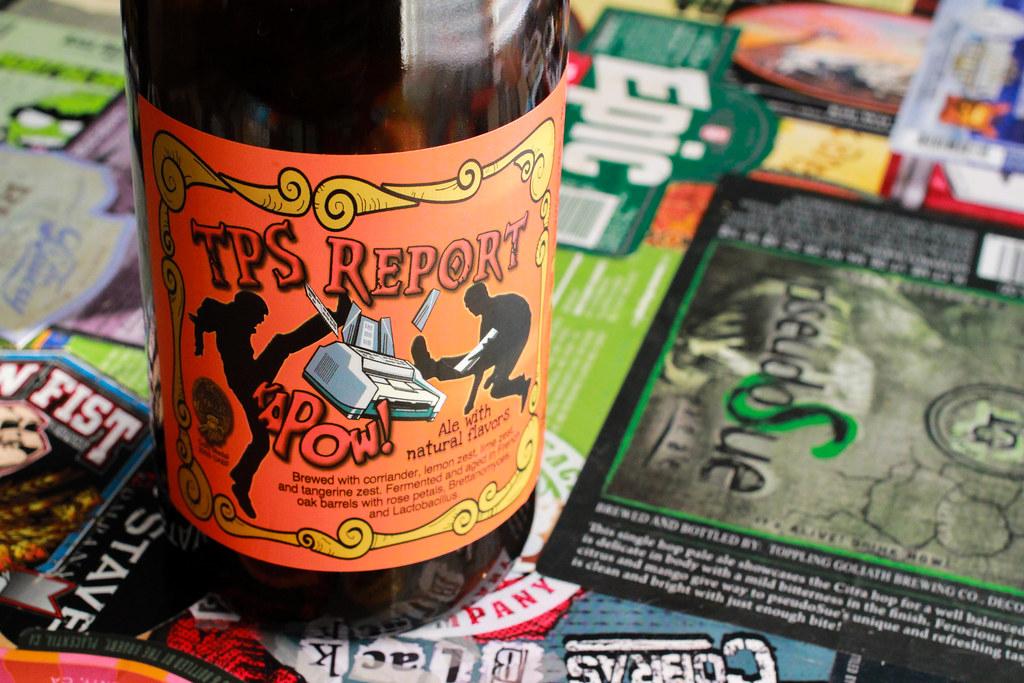 New Brew Thursday : TPS Report : Trinity Brewing Company