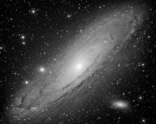 M31 Luminance Channel by Mick Hyde