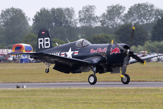 Red Bull F4U Corsair