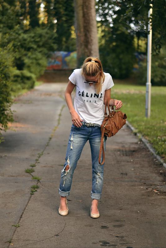 75189c635950 t-shirt  DIY  jeans  Gate + DIY  belt