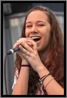 Singing in Brisbane Mall-2=