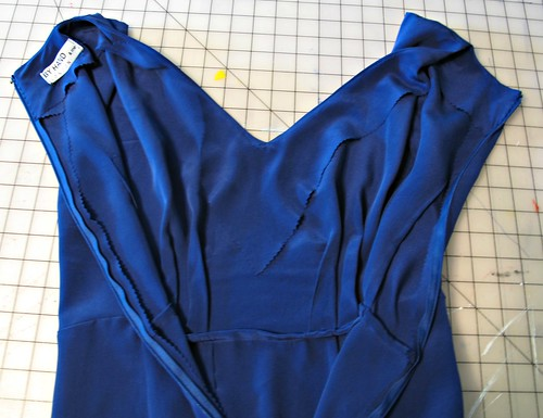 Anna silk crepe de chine Maxi
