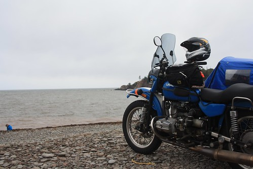 Ural at Cape Enrage