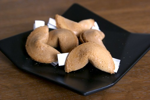 フォーチュンクッキーの作り方