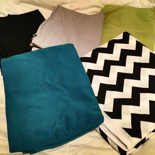 Latest fabric haul and first order from @girlcharlee. Thanks Beangirl!