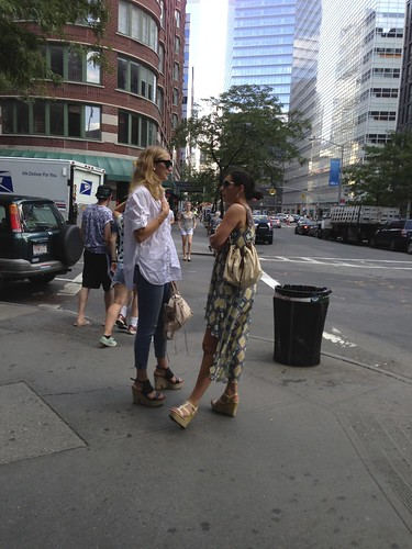 Heels (near the WTC)