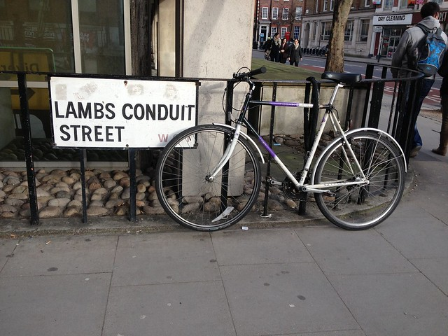 Bike in London, Lambs Conduit Street