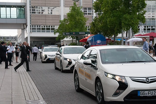 Opel Ampera Presseshuttle IAA 2013