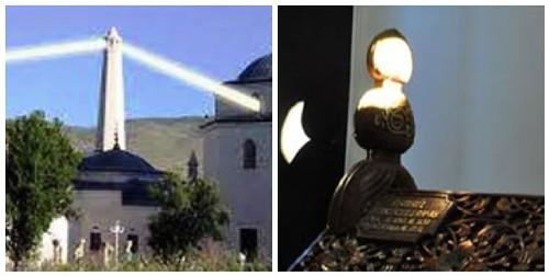 Erzurumlu İbrahim Hakkı Hazretlerinin Hocasının Türbesi ışık hadisesi