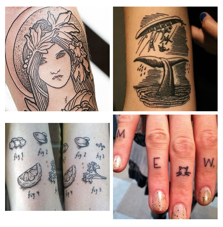 cool tattoos girly part 2