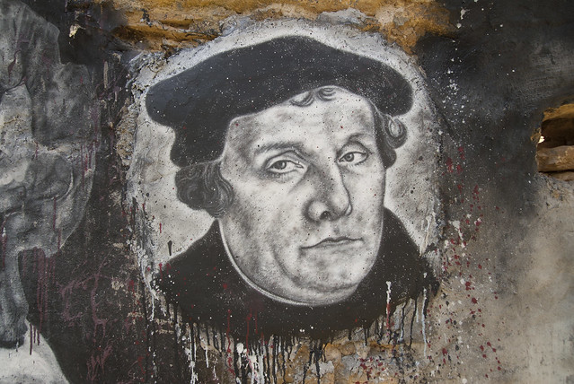 Martin Luther, painted portrait DDC_8741