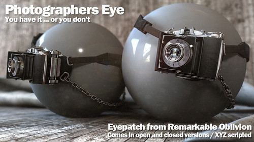 NEW-RO Photographers Eye Available October 1st @FaMESHed
