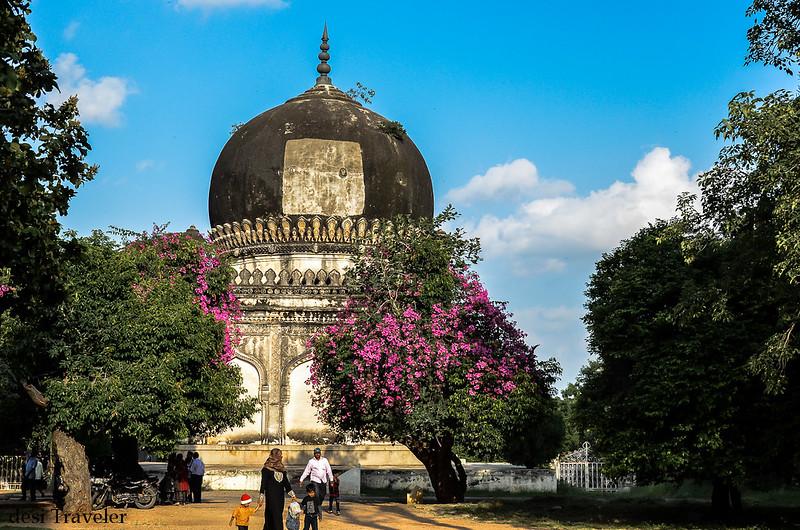 picnic at 7 Qutub Shahi Tombs Hyderabad