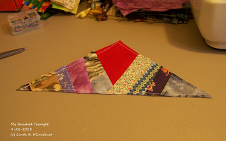 100_8893 - My Finished Triangle - 9-28-2013