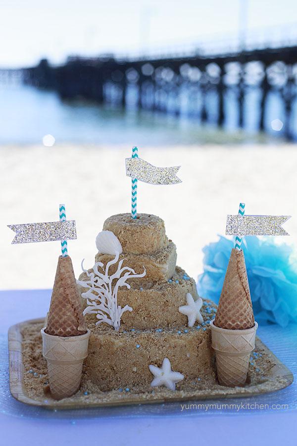 Best Cake For Sand Castle