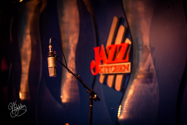 The Mic Awaits at Jazz Kitchen