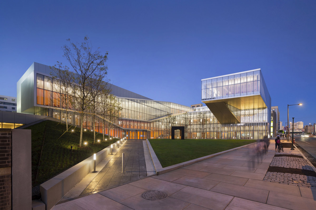Krishna P. Singh Center for Nanotechnology design by WEISS / MANFREDI