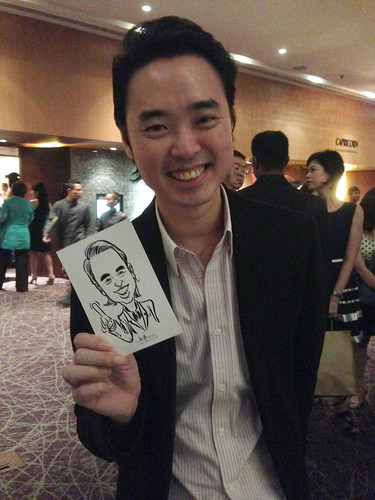 Digital live caricature for NTUC D&D 2013 - 8a