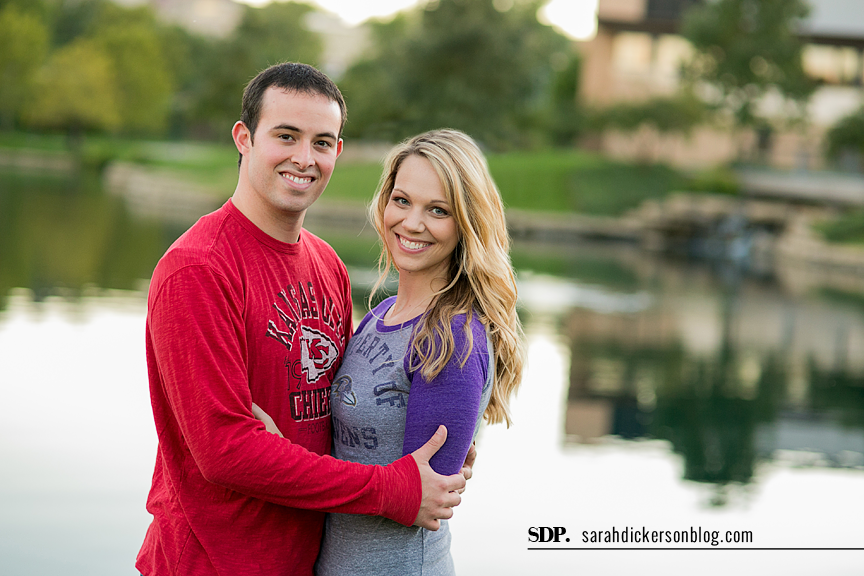 Country Club Plaza engagement session