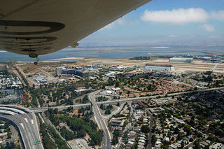 Moffett Field and Mountain View