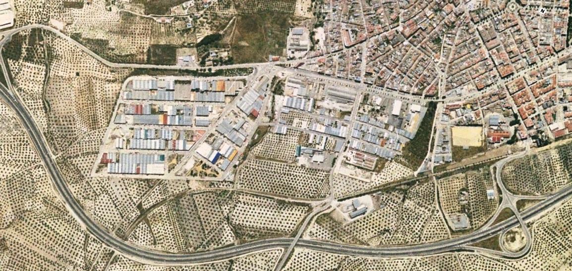 antes, urbanismo, foto aérea, desastre, urbanístico, planeamiento, urbano, construcción,Torre del Campo, Jaén