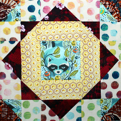 November Aurifil Block of the Month