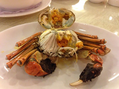 Shanghai Hairy Crab - Steamed & Shell Off
