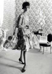 Malvarosa dress pattern, babydoll dress, Balenciaga