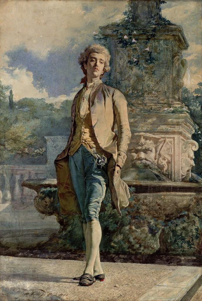 Marià Fortuny - Il contino (c.1861)