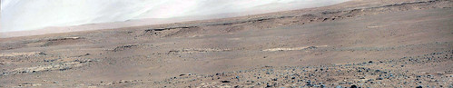 Curiosity sol 455 MastCam right - WNW view