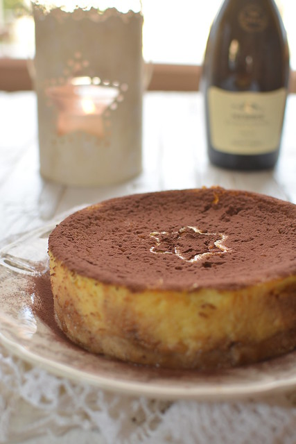 Choco Orange Cheese Cake su Brisée alla Cannella