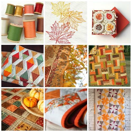 Autumn Quilt Inspiration Challenge