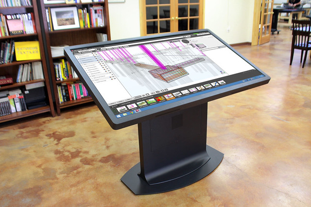 Digital Angle Finder >> Platform 65 Multitouch Drafting Table | Flickr - Photo Sharing!