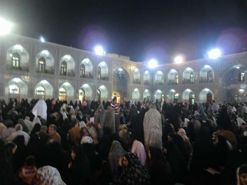 155 Patio Interior de la mezquita de Iman Reza en Masshad. Foto de Majid Kharinkani (7)