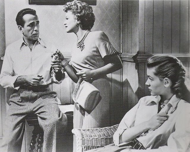 Key Largo, bogie and becall, claire trevor, outfit, clothes, never fully dressed, withoutastyle,